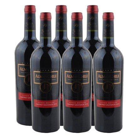 智利艾玛庄园赤霞珠干红葡萄酒(6瓶装)