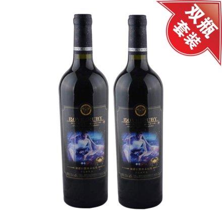 澜爵巨蟹座+巨蟹座赤霞珠干红葡萄酒