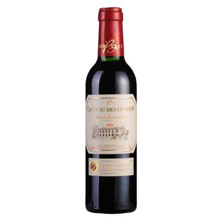 法国利图斯庄园2008红葡萄酒375ml