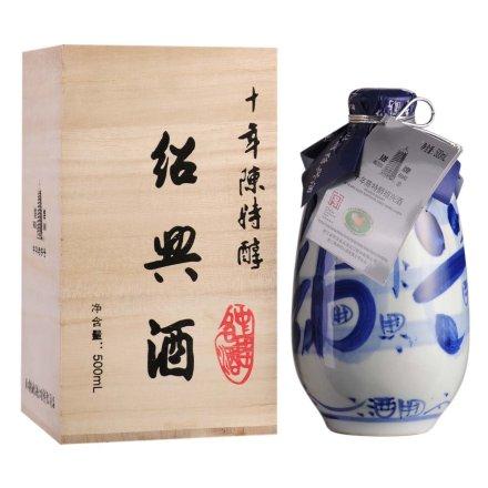 15°塔牌十年特醇木盒花雕酒500ml