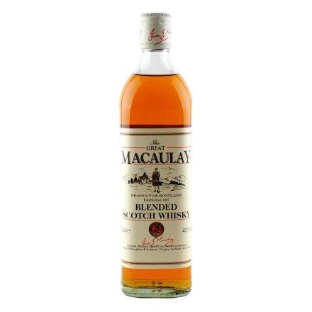 40°英国麦高瑞苏格兰威士忌700ml