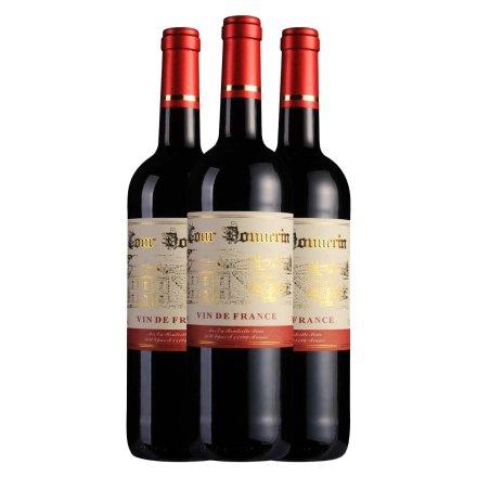法国勃朗宁古堡干红葡萄酒750ml(3瓶装)