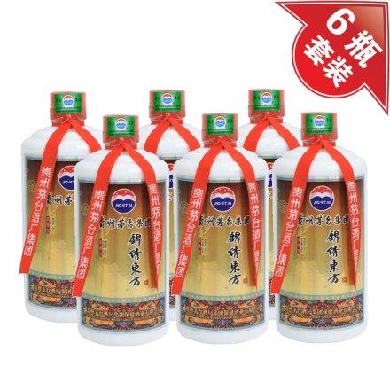 (清仓)52°锦绣东方酒500ml(6瓶装)