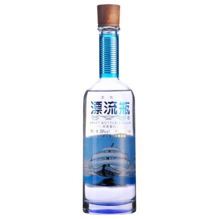 (清仓)38°漂流瓶酒350ml(友情瓶)