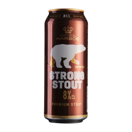 德国哈尔博棕熊黑啤酒500ml