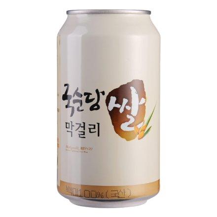 6°韩国麹醇堂碳酸玛克丽酒350ml