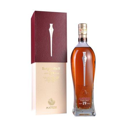 46°英国马谛氏19年单一纯麦苏格兰威士忌酒700ml