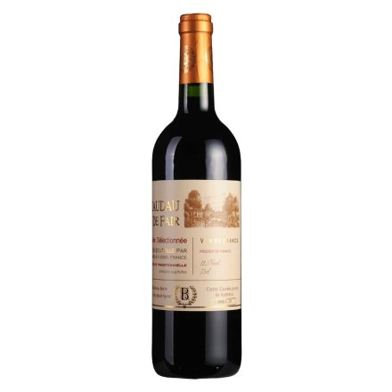 【清仓】法国百笛菲尔精选干红葡萄酒