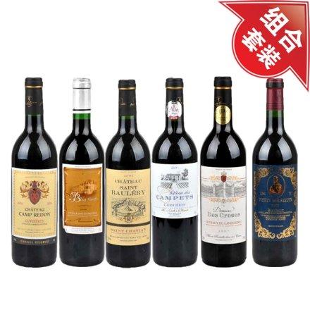 法国AOC级葡萄酒套装