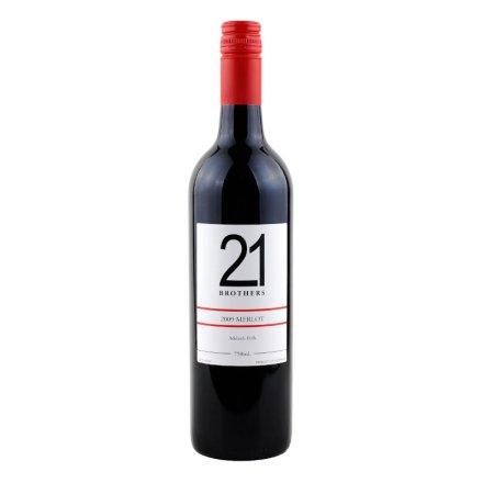 【清仓】澳大利亚21兄弟美乐干红葡萄酒