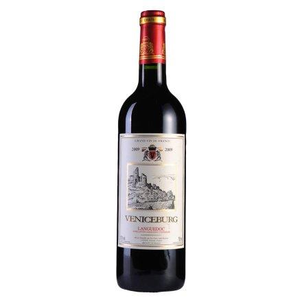 【清仓】法国威尼斯堡酋长干红葡萄酒2009