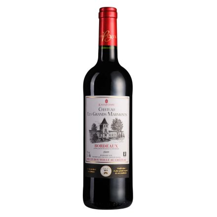 【清仓】法国卡斯轩家族玛瑞蒙城堡干红葡萄酒750ml