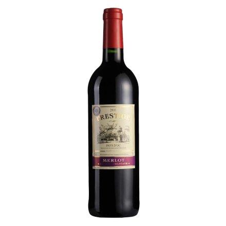 【清仓】法国图山美乐干红葡萄酒750ml