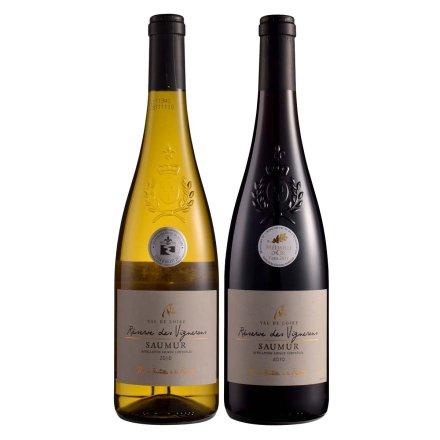 法国戴斯韦尼珍藏干白葡萄酒750ml+法国戴斯韦尼珍藏干红葡萄酒750ml