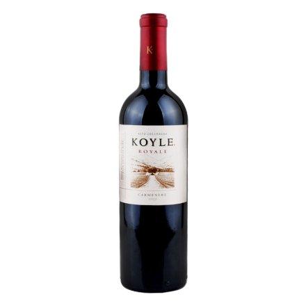 【清仓】智利柯莱皇室卡曼尼干红葡萄酒