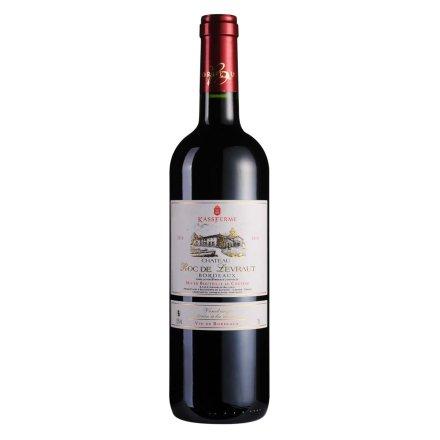 【清仓】法国卡斯轩家族拉维拉尔特城堡干红葡萄酒750ml