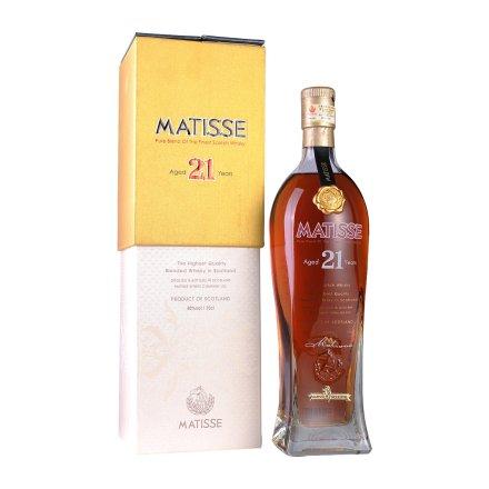 40°英国马谛氏21年苏格兰威士忌酒700ml