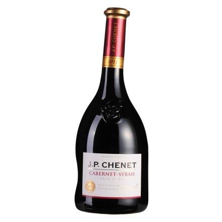 法国香奈赤霞珠-西拉干红葡萄酒750ml
