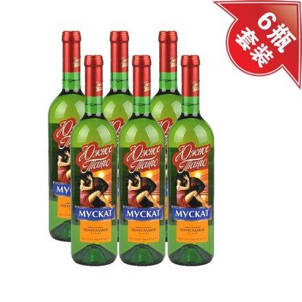 (清仓)南探戈白葡萄酒(6瓶装)