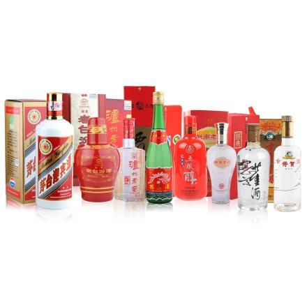 中国八大名酒精选套装