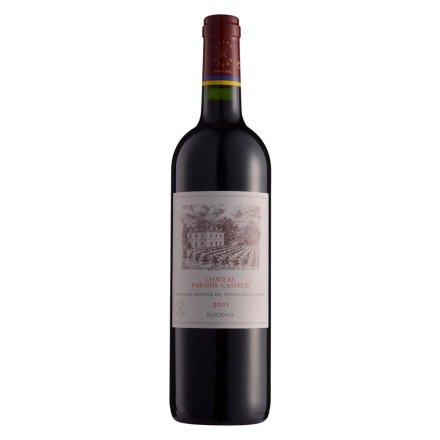 【清仓】法国拉菲卡瑟天堂古堡波尔多法定产区红葡萄酒750ml
