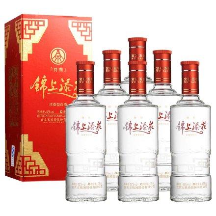 52°五粮液股份公司锦上添花特制475ml(6瓶装)