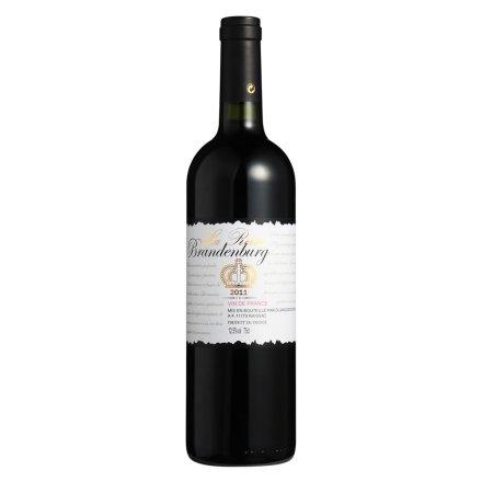 【清仓】法国勃兰登堡奈泽维干红葡萄酒750ml