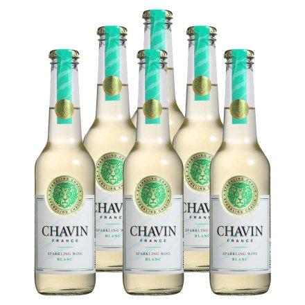 法国柏翠诗白玫瑰起泡葡萄酒275ml(6瓶装)