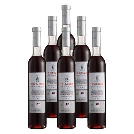 8°天露人参山葡萄酒490ml(6瓶装)