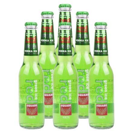 5.1°红广场绿冰预调酒青柠味270ml(6瓶装)