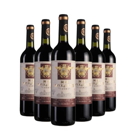 中国澜爵品鉴级赤霞珠干红葡萄酒(6瓶装)