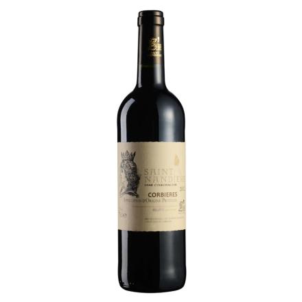 法国圣男雅黛金冠贵妇干红葡萄酒750ml