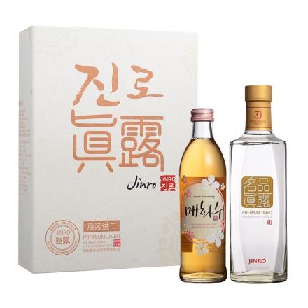 30°名品真露-韩国烧酒礼盒450ml