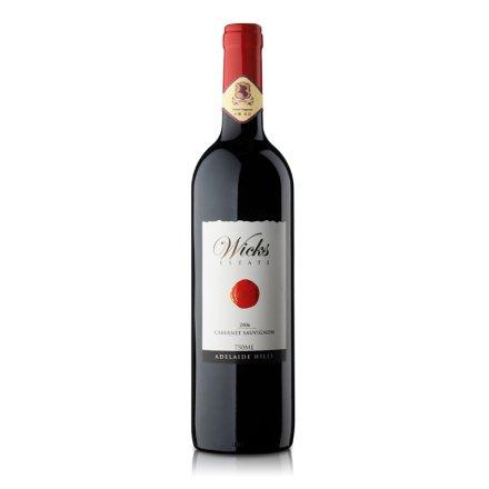 澳洲威克斯赤霞珠干红葡萄酒750ml