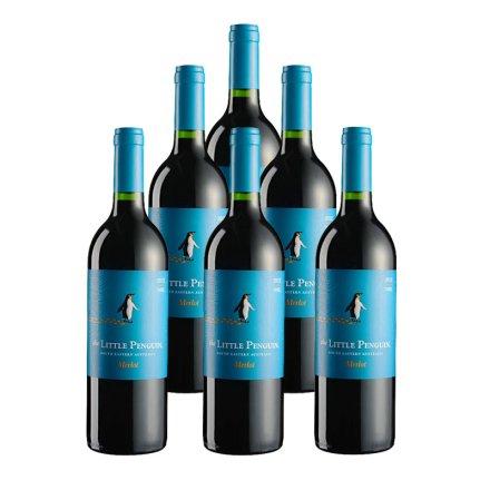 澳大利亚小企鹅梅洛红葡萄酒(6瓶装)