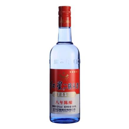 53°红星蓝瓶二锅头500ml