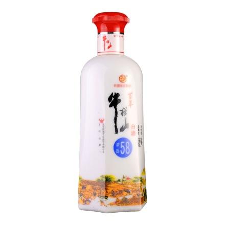 58°牛栏山清香白酒500ml
