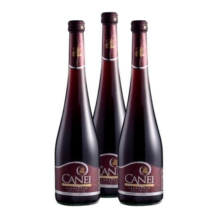 意大利圣霞多肯爱宝石红起泡葡萄酒(3瓶装)