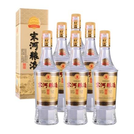 50°宋河粮液1988金奖纪念酒475ml(6瓶装)