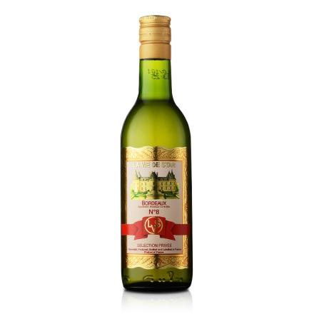 【清仓】法国拉维之星8号波尔多白葡萄酒187ml