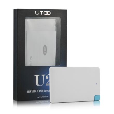 优图U2超薄充电宝+蓝牙耳机礼盒套装(乐享)