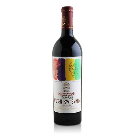 【清仓】(列级庄·名庄·正牌)法国木桐酒庄干红葡萄酒2001(又译:武当)