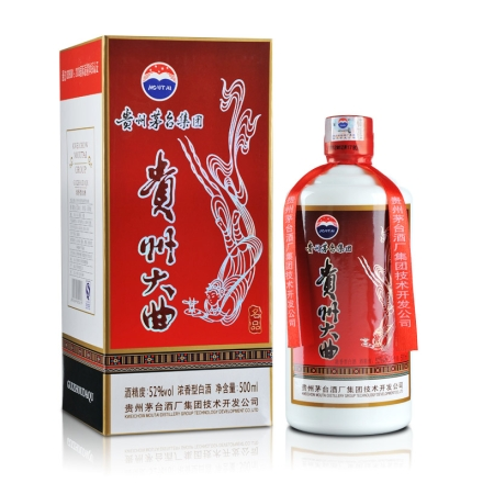 52°茅台贵州大曲酒500ml(名品)