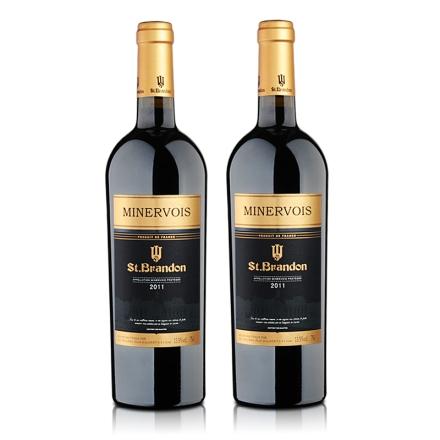 法国圣堡兰帝米内瓦葡萄酒750ml(双瓶装)
