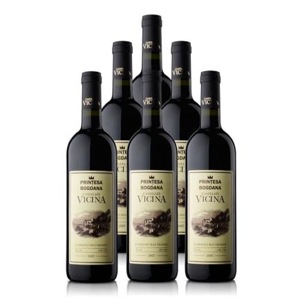 罗马尼亚维希娜城堡07年干红葡萄酒750ml(6瓶装)