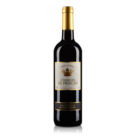 法国红酒查尔斯红葡萄酒750ml
