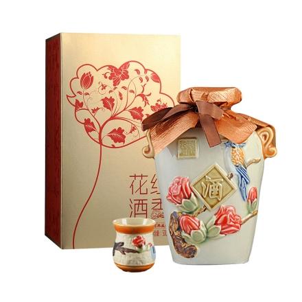 52°远航九江花红酒香500ml+花红酒香精品陶瓷杯(乐享)