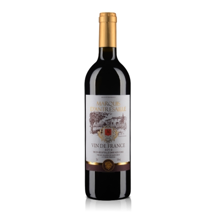 【清仓】法国安德赛侯爵干红葡萄酒750ml