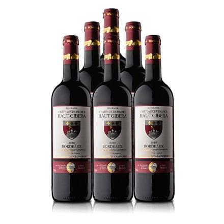 法国迪赛酒庄红葡萄酒 750ml(6瓶装)