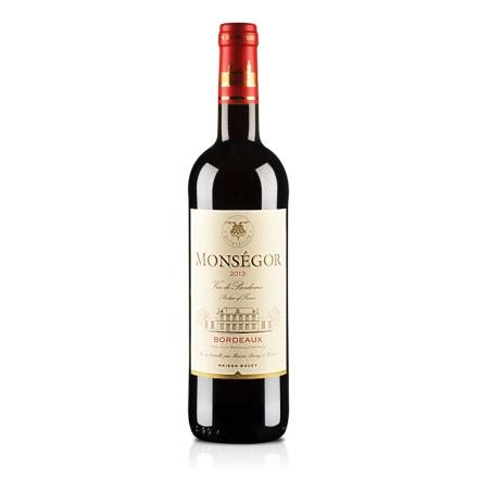 法国波尔多AOC蒙赛歌干红葡萄酒750ml